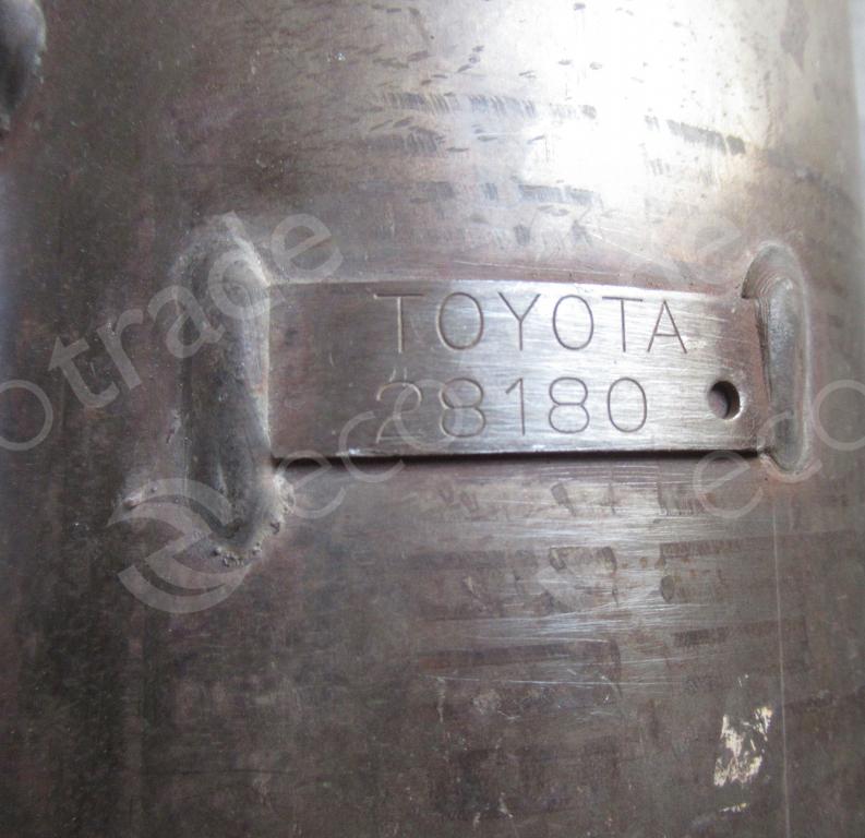 Toyota-28180Каталитические Преобразователи (нейтрализаторы)