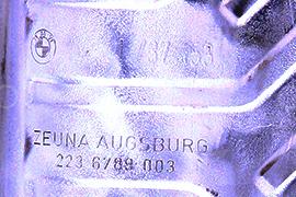 BMWZeuna Augsburg1737153Catalyseurs