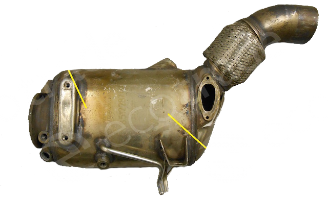 BMWEberspächer8512287Catalyseurs