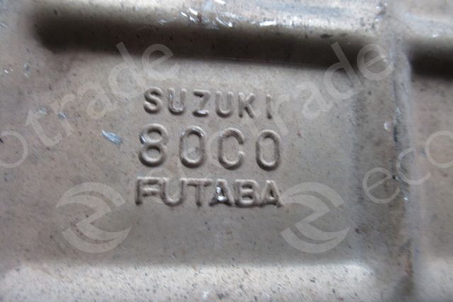 SuzukiFutaba80C0Catalytic Converters
