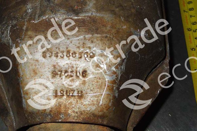 Isuzu-TROOPER 894388862Catalytic Converters