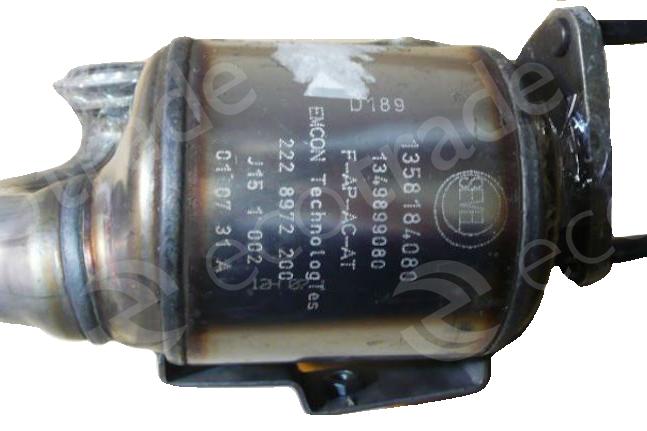 Peugeot CitroënEMCON Technologies1358184080 1349899080 D189Catalytic Converters