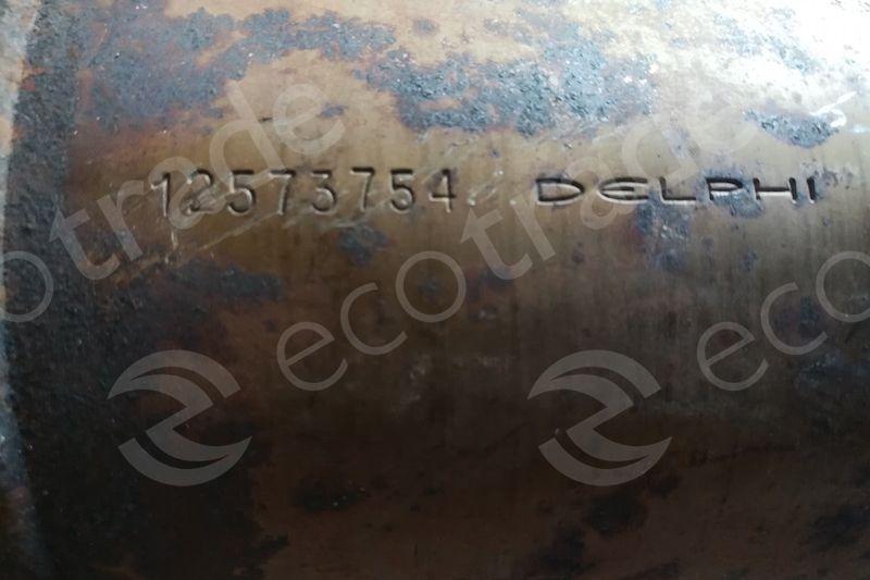 General MotorsAC12573754Catalisadores