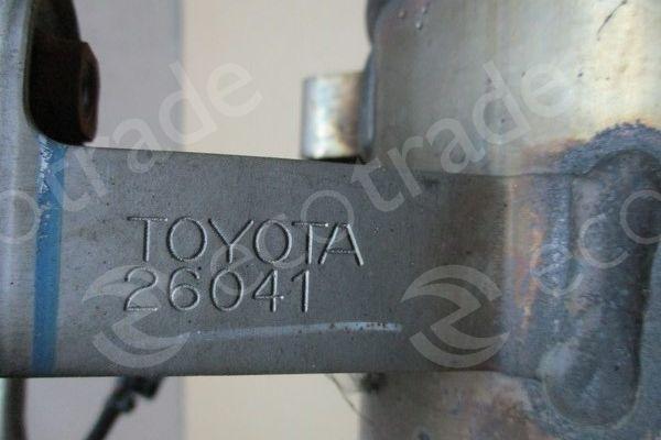 Toyota-26041Catalytic Converters