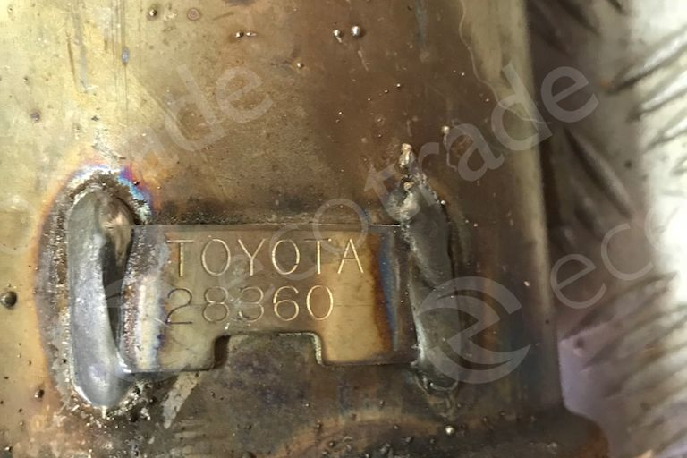 Toyota-28360Catalytic Converters