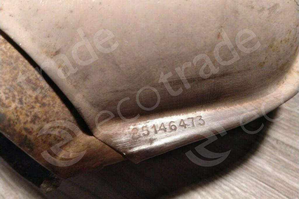 General MotorsAC25146473Catalytic Converters
