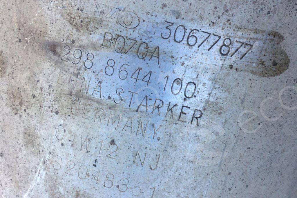 VolvoZeuna Starker30677877Catalytic Converters
