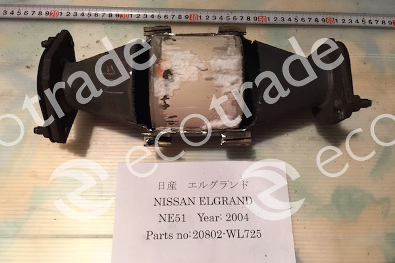 Nissan-20802-WL725Catalytic Converters