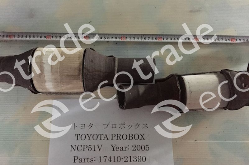 Toyota-17410-21390Catalytic Converters