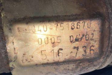 BMW-7516736Catalytic Converters