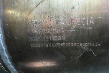 RenaultFaurecia208A00758R H8201311393Katalysatoren