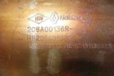 RenaultFaurecia208A00136R H8201491980Katalysatoren
