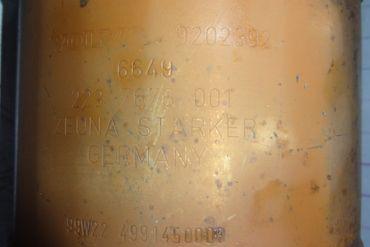 VolvoZeuna Starker9202392Catalytic Converters