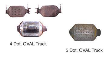 General Motors-25170556Catalytic Converters