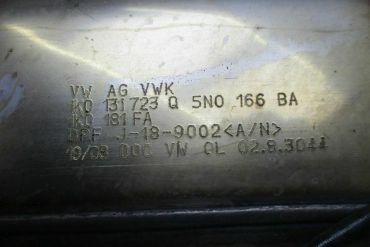 Volkswagen - Audi-1K0131723Q 5N0166BA 1K0181FACatalytic Converters
