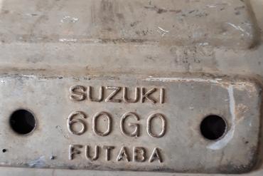 SuzukiFutaba60G0Catalytic Converters