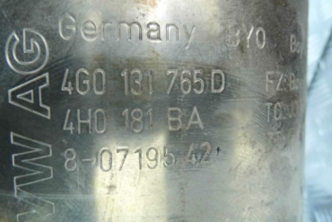 Volkswagen - AudiBoysen4G0131765D 4H0181BACatalytic Converters