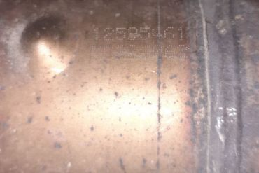 General Motors-12595461Catalytic Converters