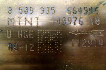 Mini Cooper-8509935Catalytic Converters