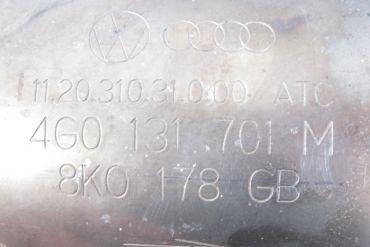 Volkswagen - AudiEberspächer4G0131701M 8K0178GBCatalytic Converters