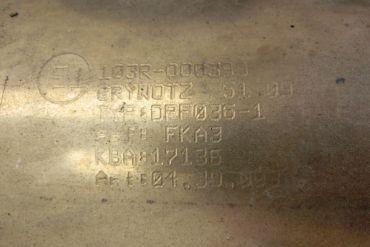 Mercedes Benz-103R-000399Catalytic Converters
