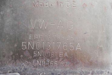 Volkswagen - Audi-5N0131765A 5N0181BA 5N0166CACatalytic Converters