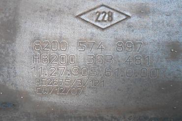 RenaultEberspächer8200574897 H8200363481Catalytic Converters