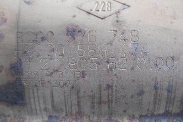 RenaultEberspächer8200576748 H8200586474Catalytic Converters