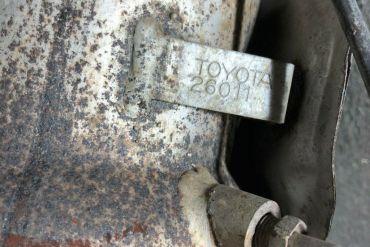 Toyota-26011Catalytic Converters