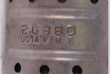 Hyundai  -  Kia-2G880Catalytic Converters
