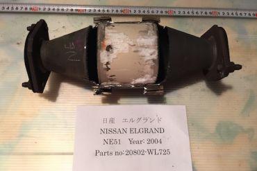 Nissan-20802-WL725Catalytic Converters