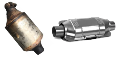 Used and new catalytic converters