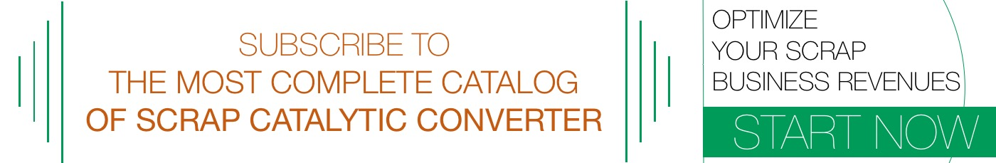 Subscription to catalog of price and picture scrap catalytic converter