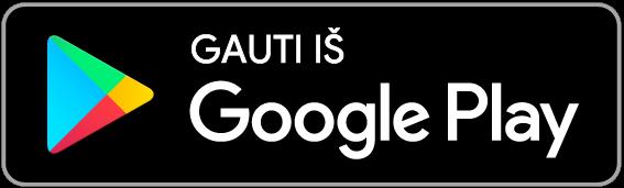 """Google Play"" mygtukas"