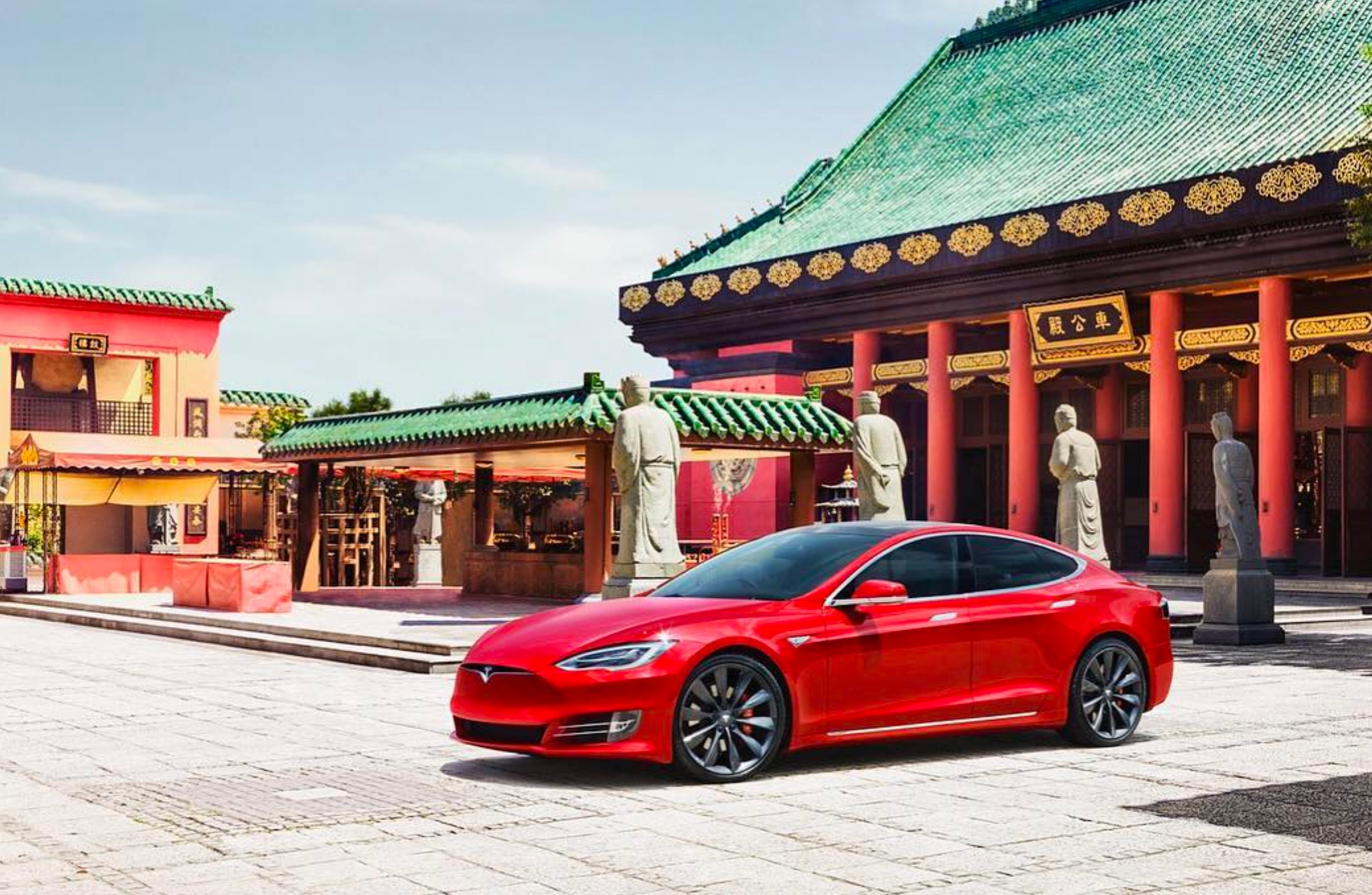 voitures électriques Shanghai Tesla